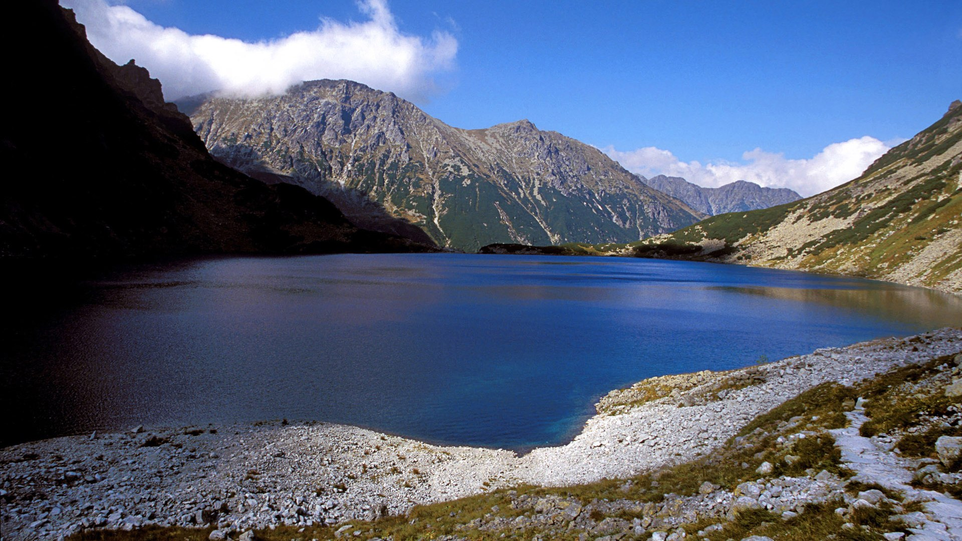 Czarny Staw in Tatra National Park in Poland Wallpapers - HD ...
