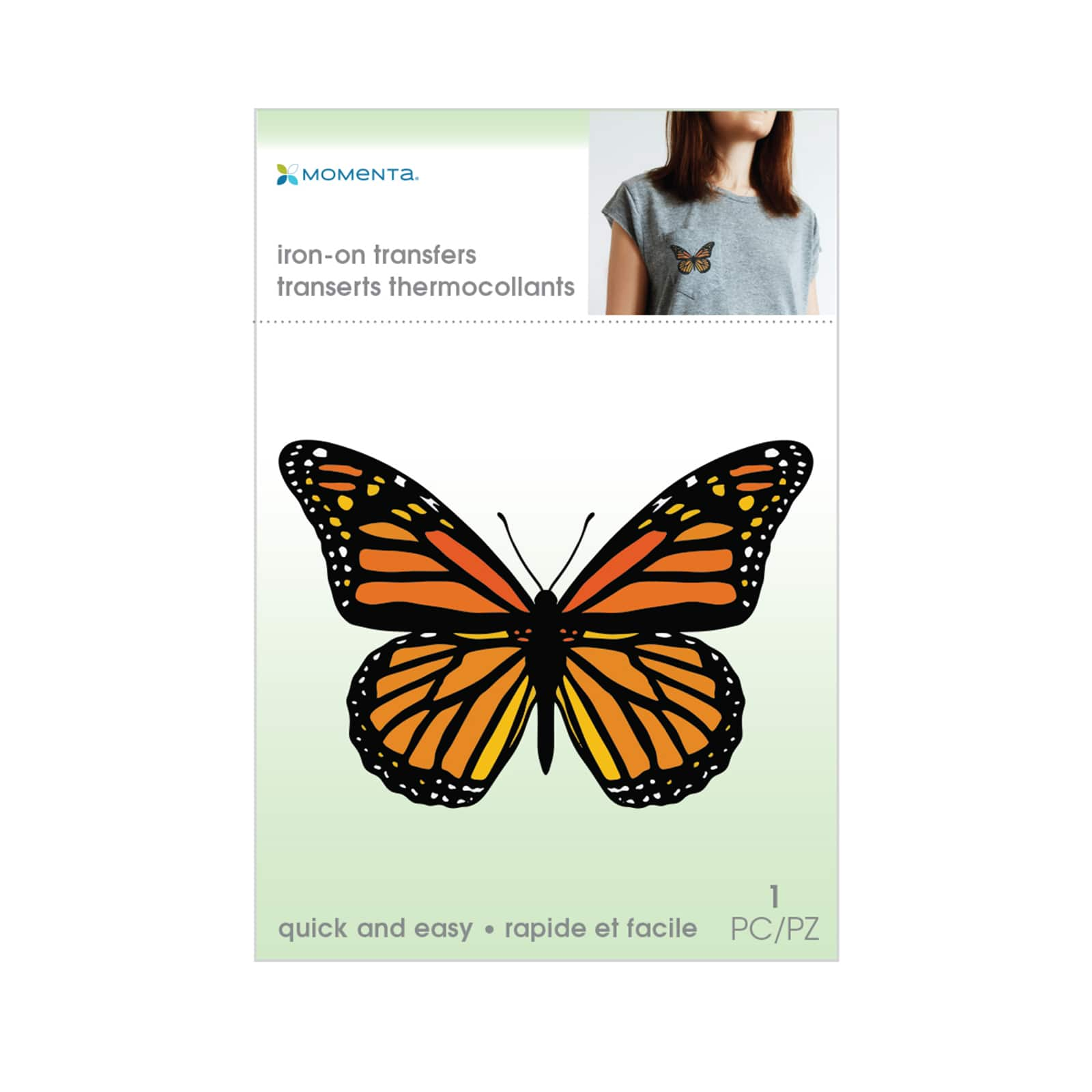 Momenta Butterfly Iron On Transfer Michaels