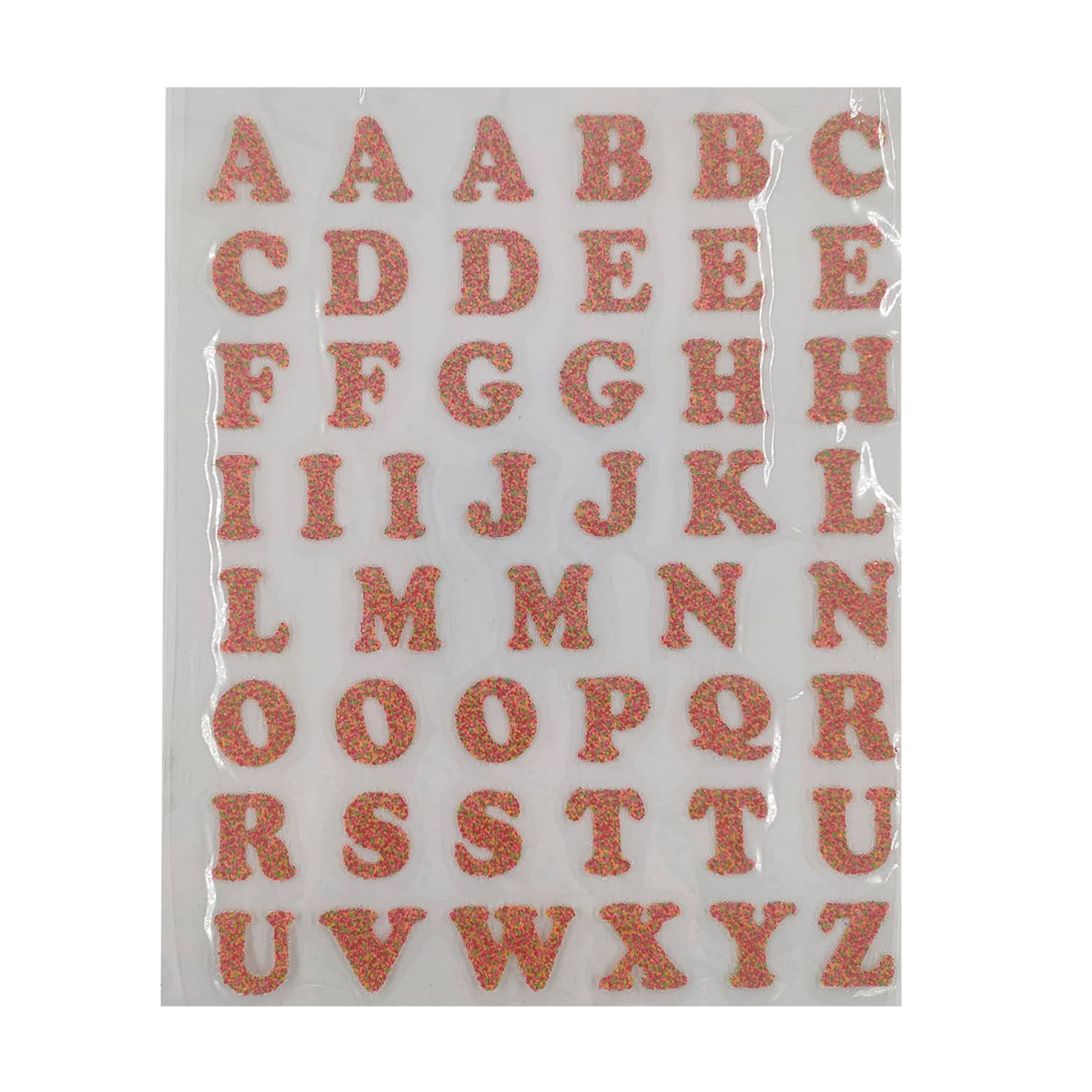 1 Iron On Sprinkle Letters By Imagin8 Michaels