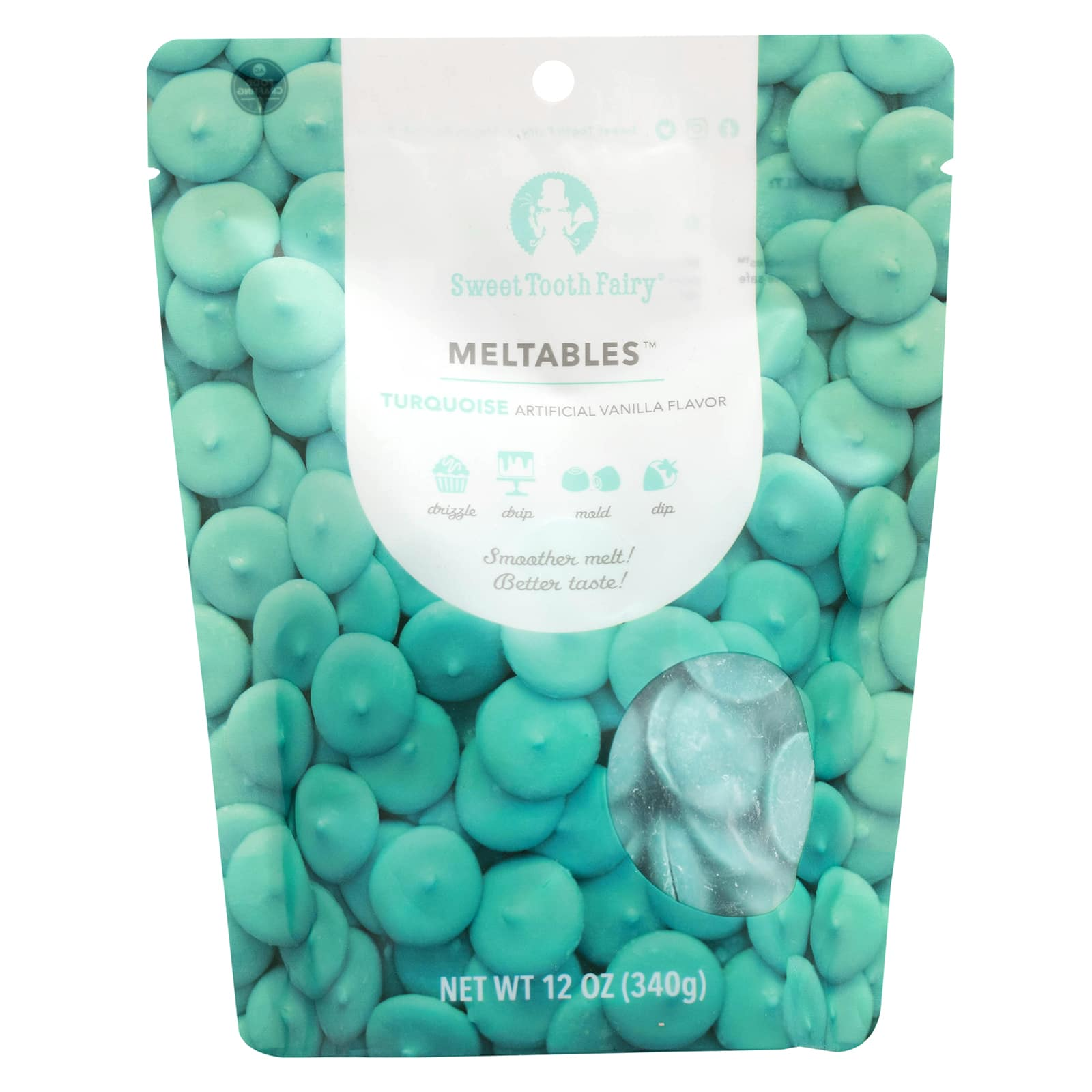 sweet tooth fairy meltables turquoise