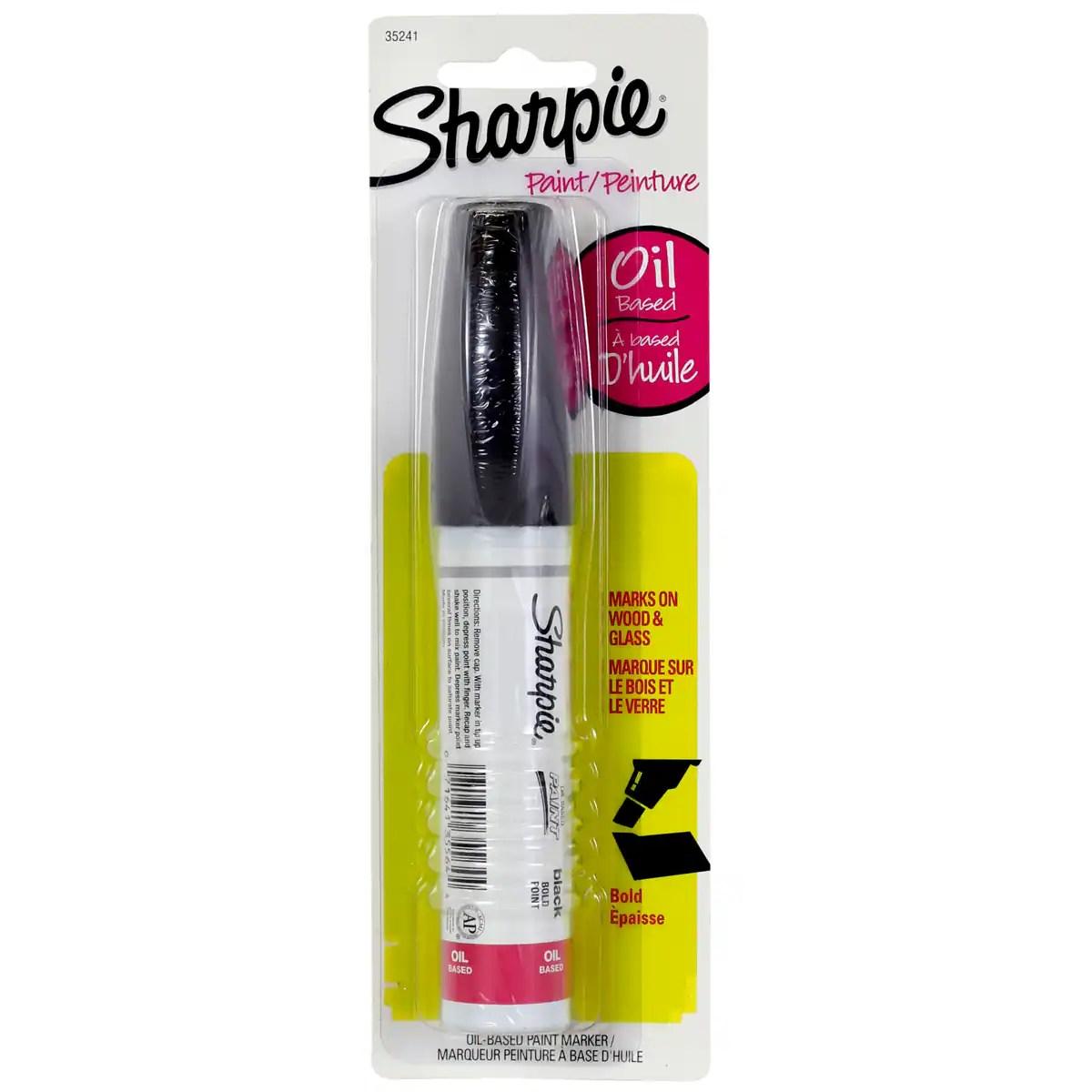 Sharpie Bold Point Oil Based Paint Marker Black Michaels