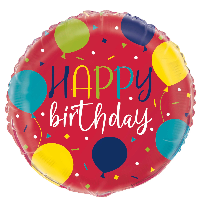 Red Birthday Foil Balloon Balloon Birthday Party Decorations