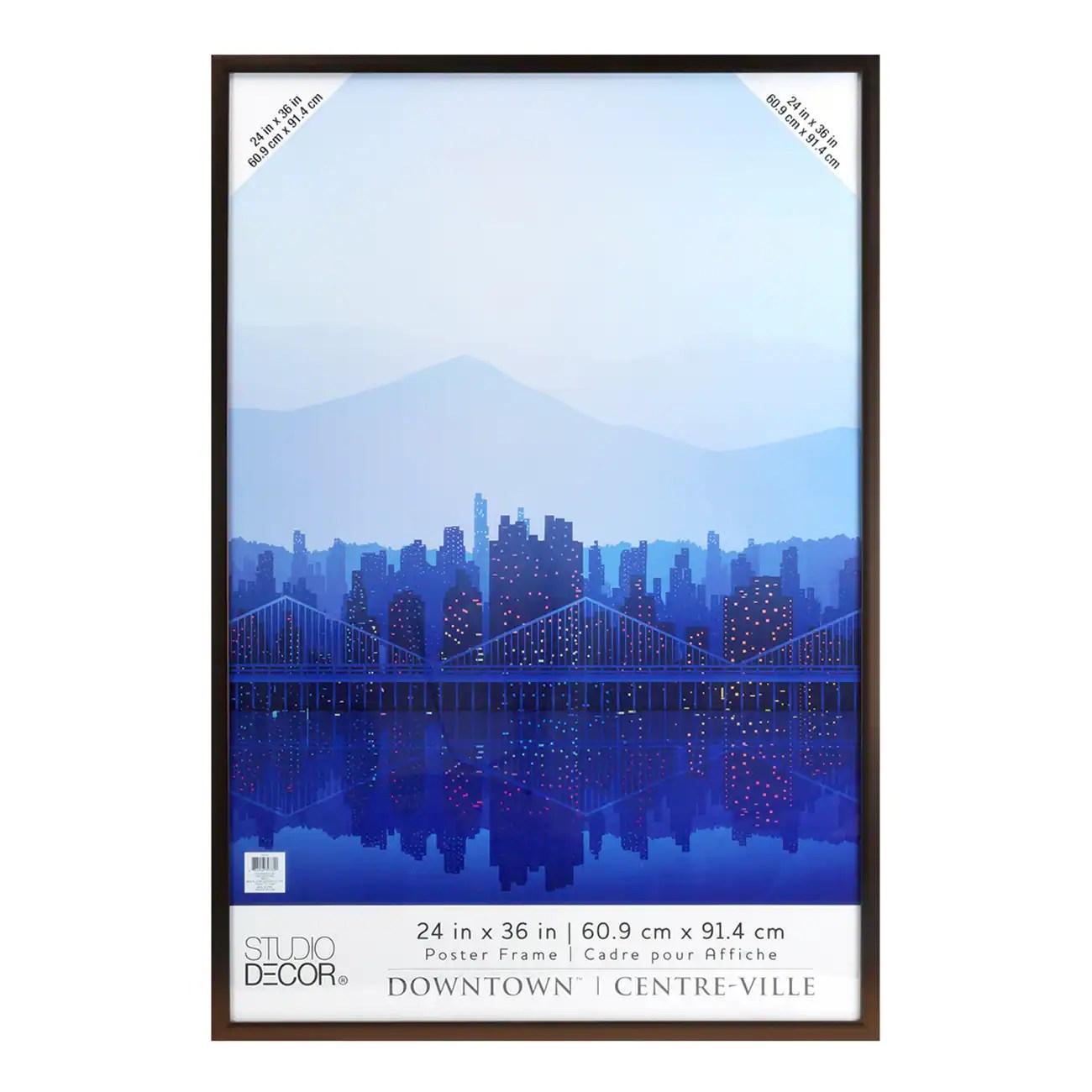 bronze 24 x 36 poster frame by studio decor