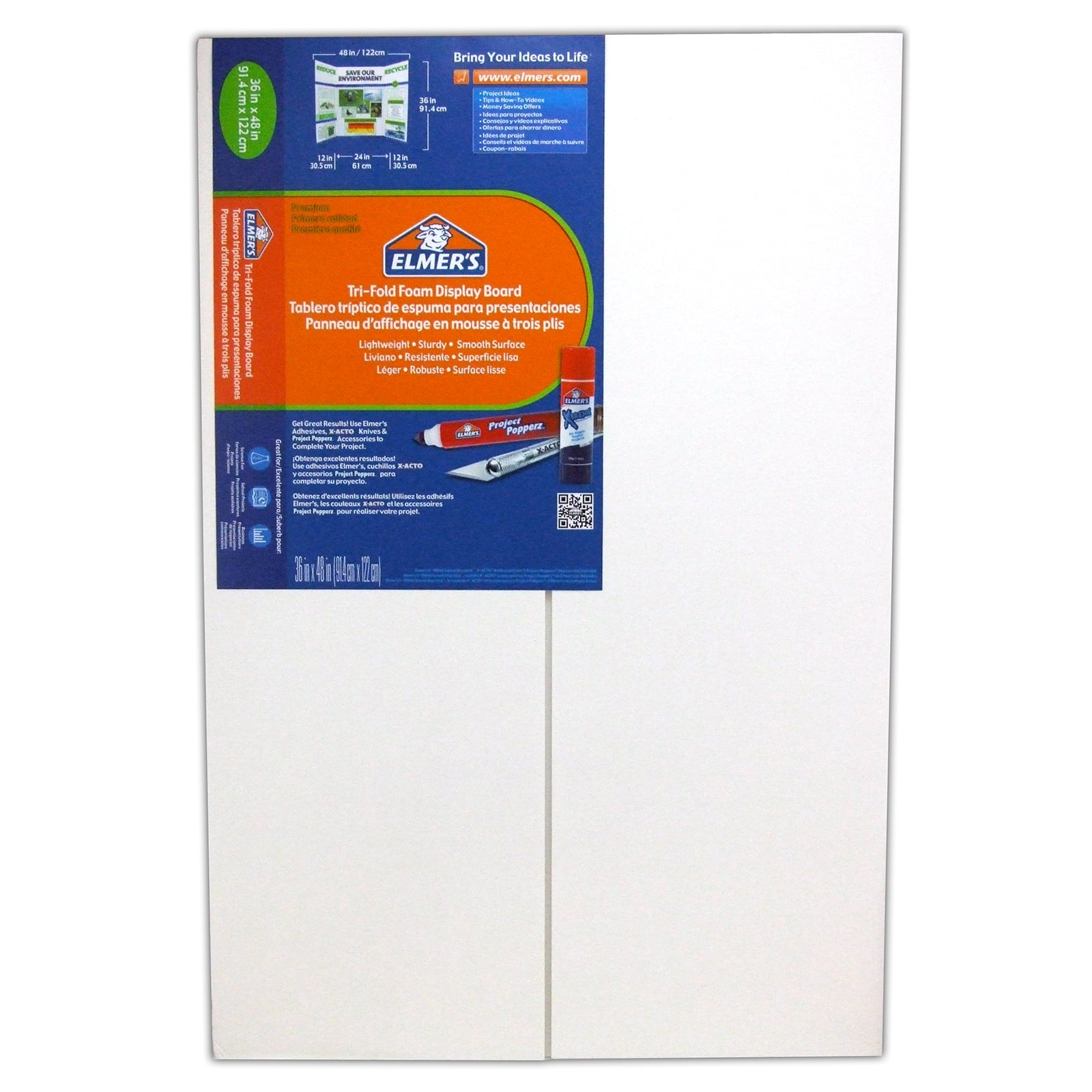 project display boards
