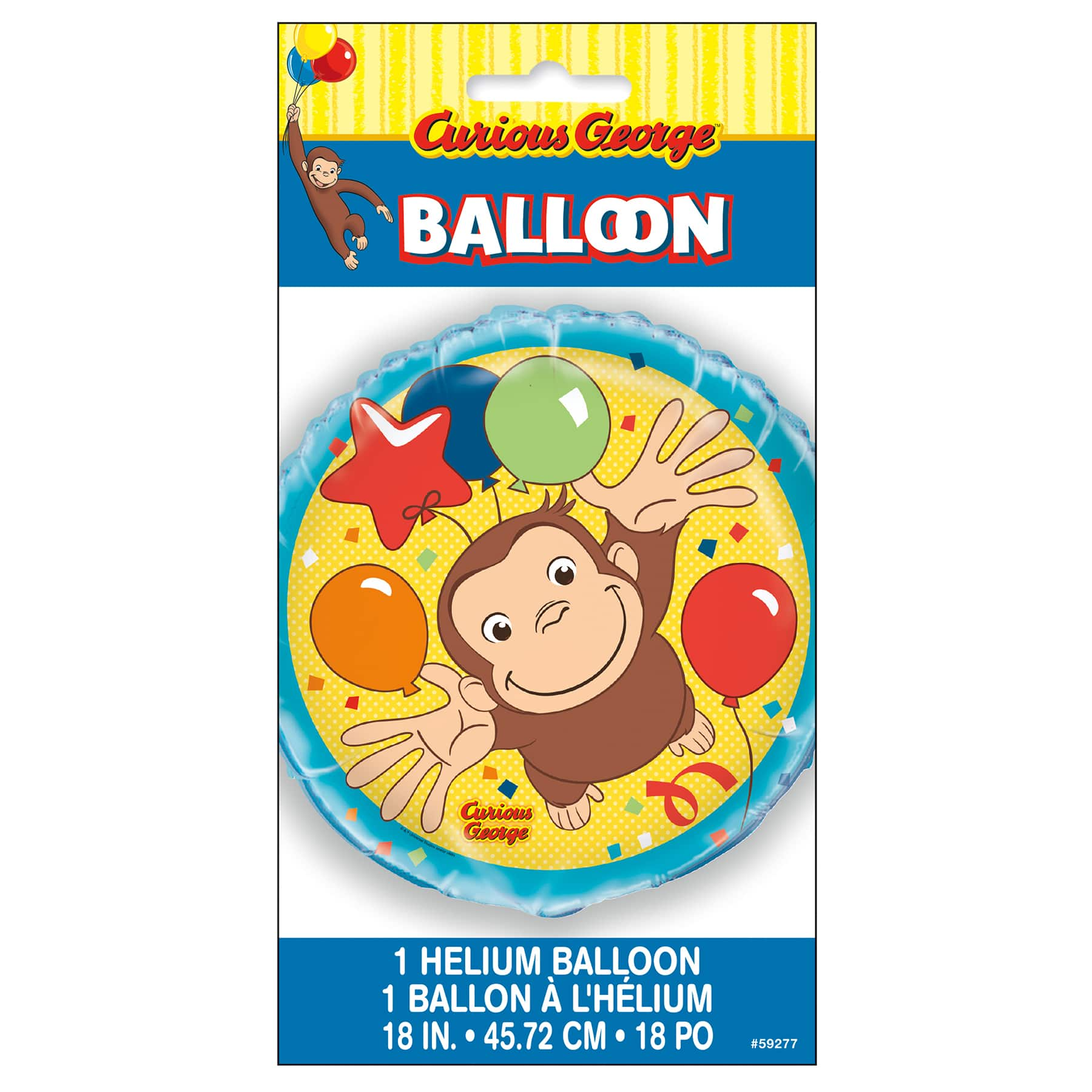 Curious George Birthday Balloon Curious George Party Decorations