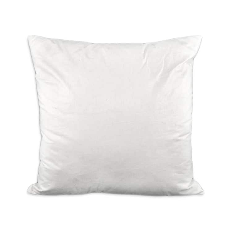 18 x 18 down poly pillow form
