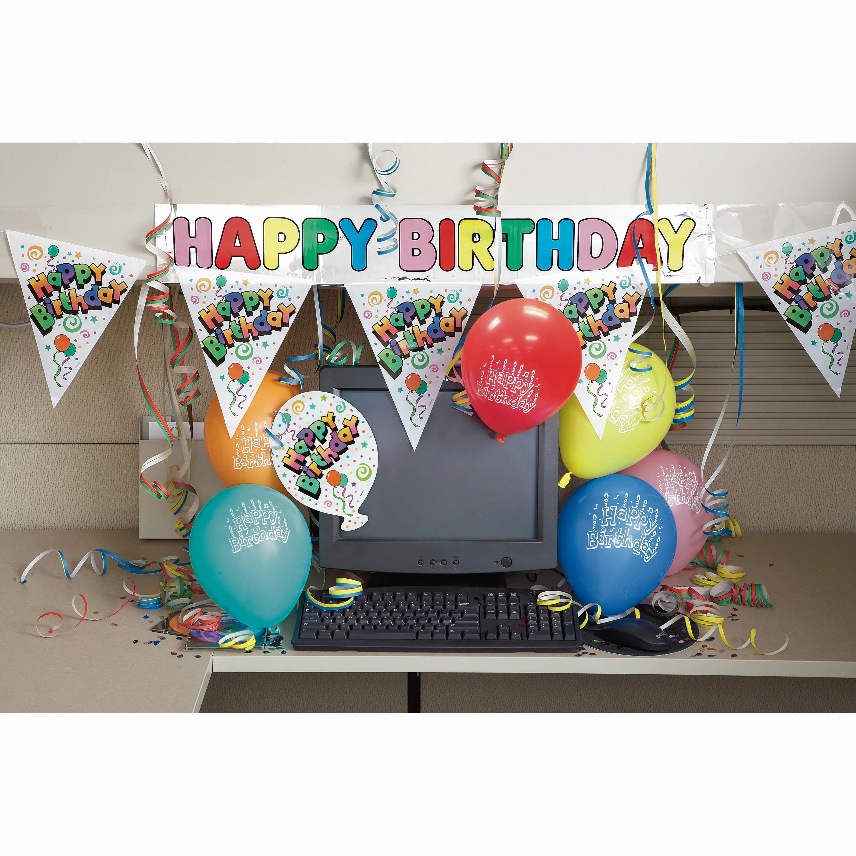 Happy Birthday Office Cubicle Decoration Kit