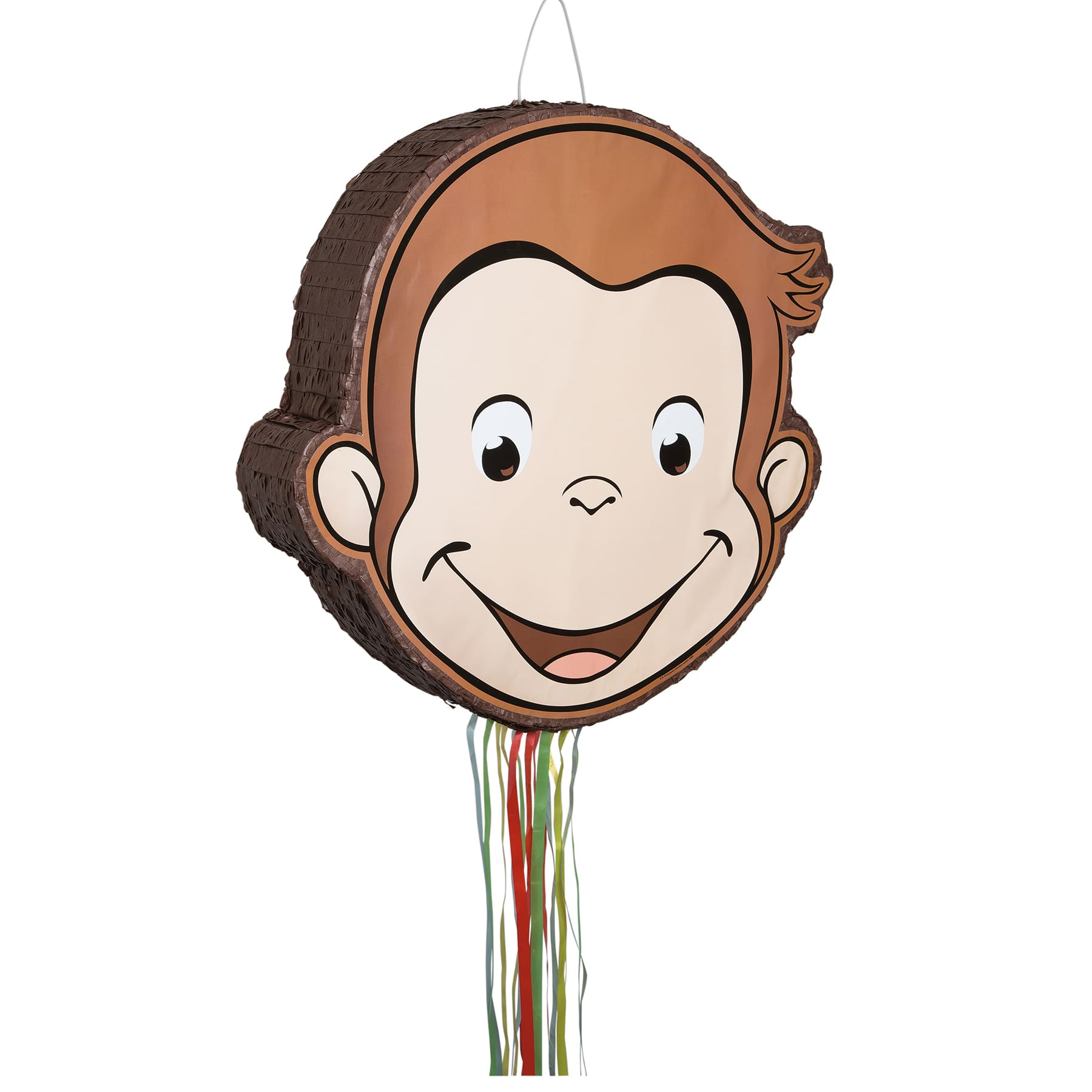 Curious George Pull String Pinata Curious George Party Supplies