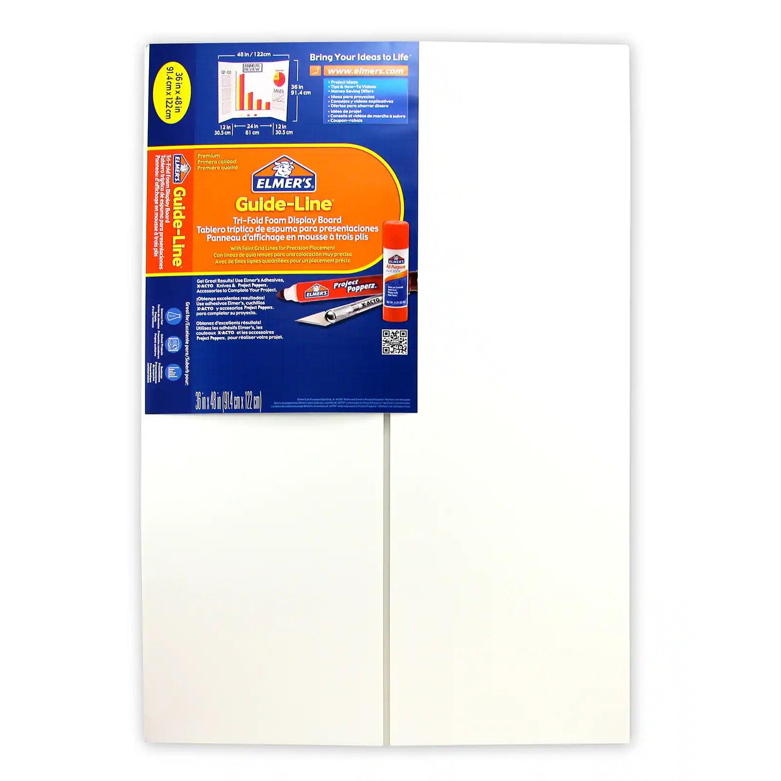 elmer s guide line foam display board
