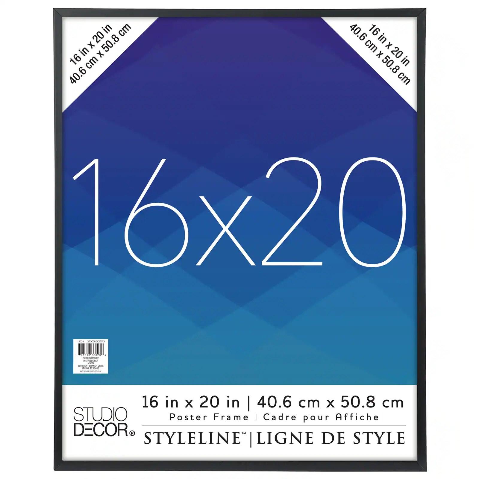 styleline poster frame by studio decor