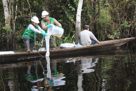 COVID19 Derrame de petróleo en la comunidad de Cuninico sucedió en 2015. Foto: Copyright © Barbara Fraser.