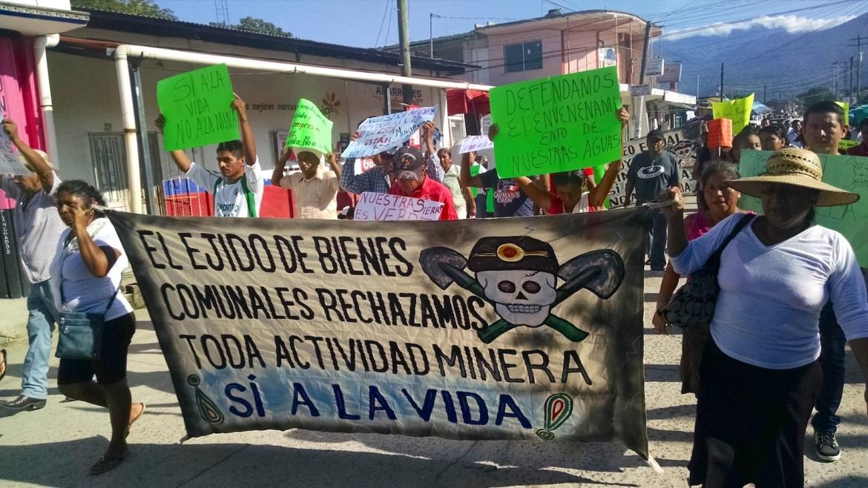 Comunidades se oponen a 21 proyectos mineros en la Sierra Madre de México
