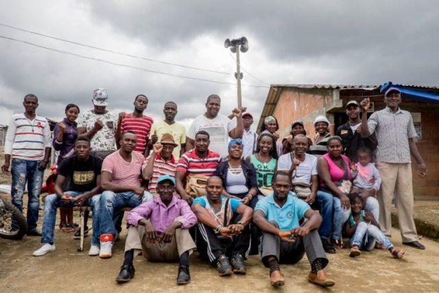 La comunidad de La Toma en Suárez, Cauca. Foto: Premio Goldman.