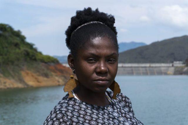 Francia Márquez caminó más de 350 kilómetros, desde las montañas del Cauca hasta Bogotá. La travesía la hizo en 2014 junto con otras 80 mujeres de su comunidad. Foto: Premio Goldman.