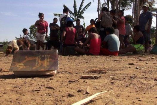 Indígenas Nukak- Makú en Guaviare, Colombia. Foto: Alberto Castaño.
