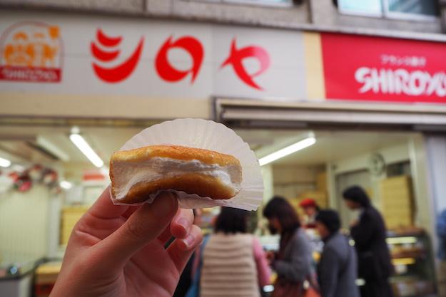 SHIROYA Bakery 鮮奶油夾心