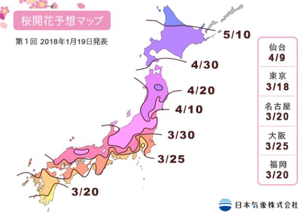 日本2018賞櫻必去
