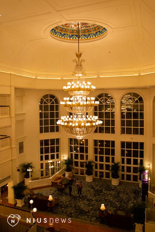 香港迪士尼樂園酒店大廳
