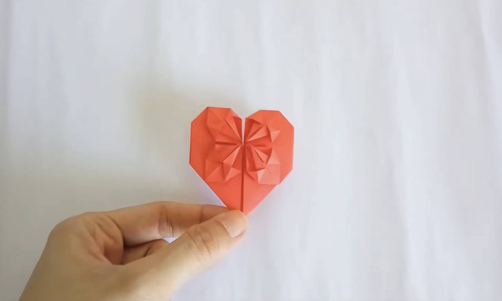 情人節禮物 十個摺紙心心方法 | 潮聞 | 東方新地