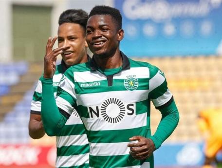 Gelson Dala faz pré-época com o Sporting de Portugal