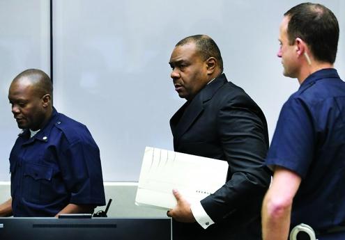 Pierre Bemba pede indemnização ao TPI