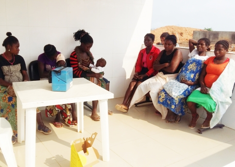 Menina de 11 anos grávida em Cabinda