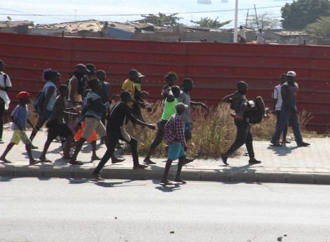Morte de jovem espancado supestamente pela Polícia provoca tumulto no Sambizanga