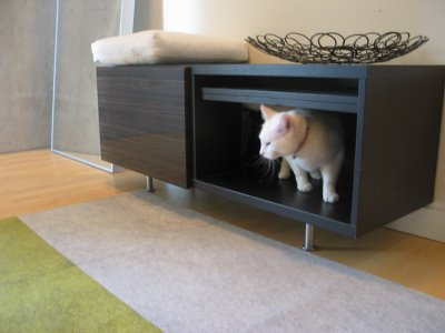 Cool Kitty Litter Box Concealers Tails Of The City