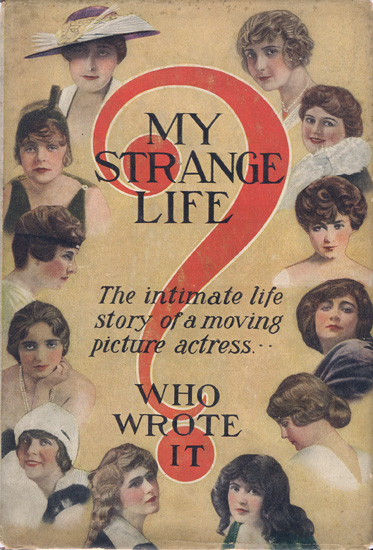 Mystery and intimacy intertwine: can you identify any of the actresses on the cover of this 1915 book?