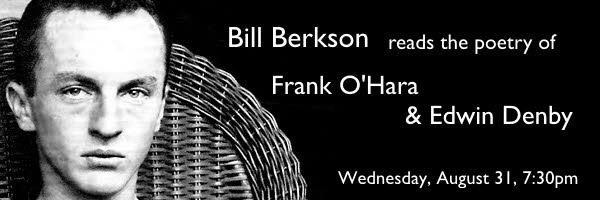 Bill Berkson reads from the works of Edwin Denby & Frank O'Hara at Moe's Books in Berkeley