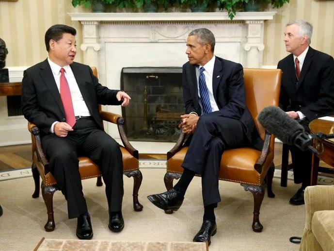 Tập Cận Bình thăm Mỹ, Obama, một vành đai một con đường, con đường tơ lụa, phá giá nhân dân tệ, bán đảo Triều Tiên