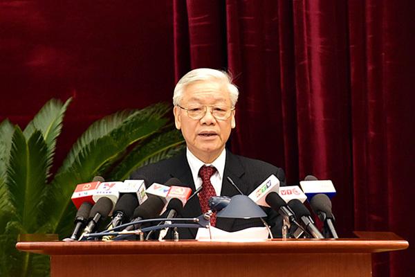 Tổng Bí thư Nguyễn Phú Trọng, Hội nghị Ban Chấp hành TƯ Đảng khóa XI, Ban bí thư, Bộ Chính trị, Mặt trận Tổ quốc