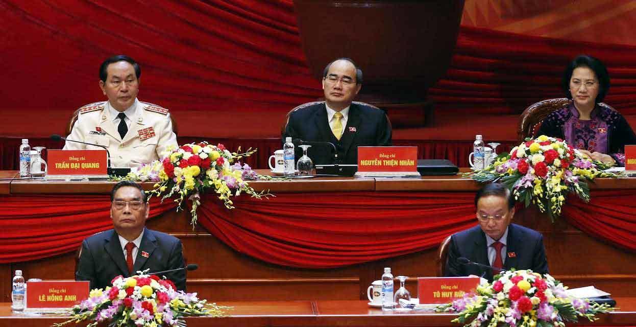 Đại hội Đảng 12, Tổng bí thư Nguyễn Phú Trọng