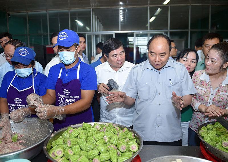 Thủ tướng Nguyễn Xuân Phúc, vi hành