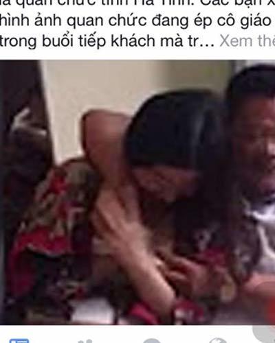Xử nghiêm vụ đăng ảnh ở TQ gán cho quan chức Hà Tĩnh