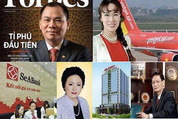 siêu giàu Việt, tỷ phú, tỷ phú Việt, tỷ phú USD, tỷ phú đô-la, đại gia giấu mặt