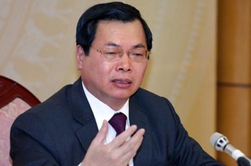 Vũ Huy Hoàng, Bộ Công thương, Bộ Nội vụ