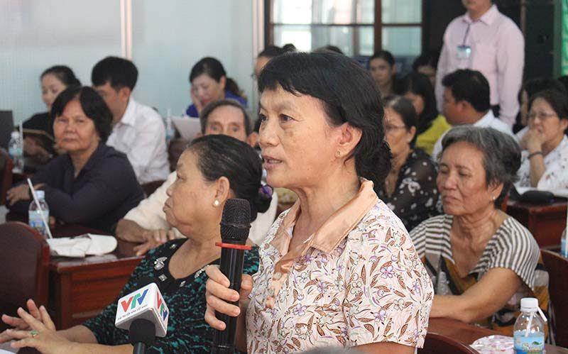 chủ tịch quốc hội, Nguyễn Thị Kim Ngân, tiếp xúc cử tri, tranh chấp đất đai, tham nhũng, Võ Kim Cự