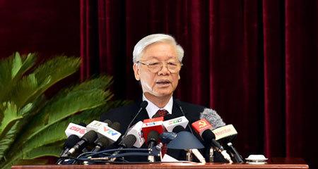 Hội nghị Trung ương 5, Trung ương Đảng khóa 12, Tổng bí thư, Tổng bí thư Nguyễn Phú Trọng, Nguyễn Phú Trọng