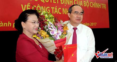 Công bố quyết định ông Nguyễn Thiện Nhân làm Bí thư TP.HCM