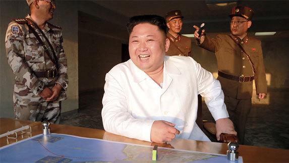 Kim Jong Un,tên lửa Triều Tiên,tên lửa đạn đạo liên lục địa