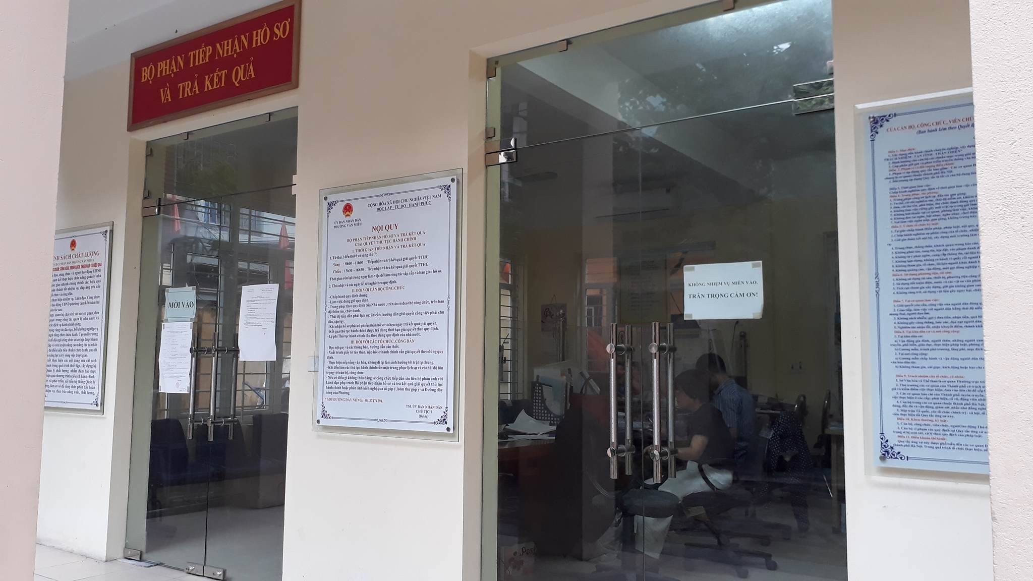 giấy chứng tử, phường Văn Miếu, Hà Nội, Đinh Duy Hòa