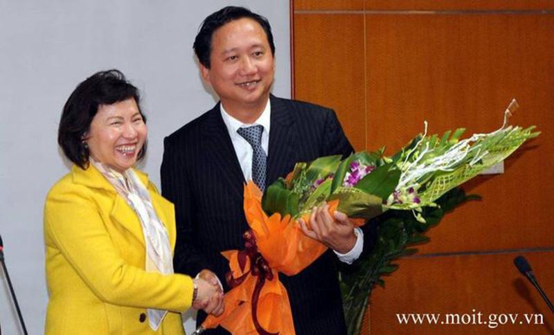 Hồ Thị Kim Thoa, Thứ trưởng Hồ Thị Kim Thoa, bộ Công thương