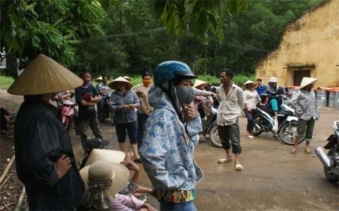 chôn hóa chất, ô nhiễm môi trường, Cty Nicotex Thanh Thái, Thanh Hóa