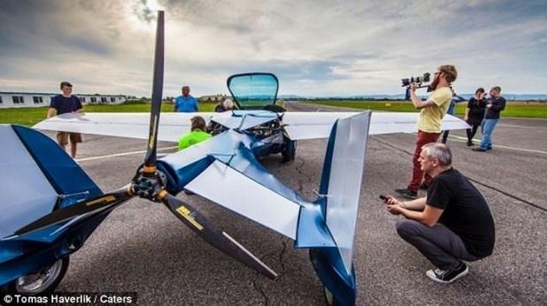 ô tô bay, siêu xe, máy bay