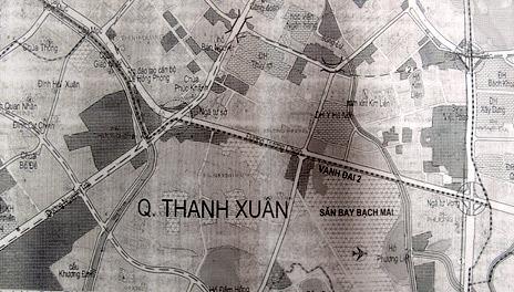 bẻ cong; quy hoạch; ghi đông; Hà Nội; Trường Chinh