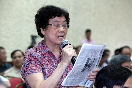 Tổng bí thư Nguyễn Phú Trọng, cử tri, y tế, dịch sởi, đầu tư công, đường sắt đô thị, lấy phiếu tín nhiệm, tham nhũng