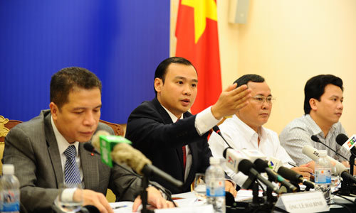 Lê Hải Bình, bộ ngoại giao, bộ công an, giàn khoan, chủ quyền