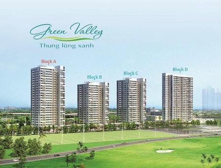 Tòa nhà A Green Valley có vị trí phía ngoài, mặt tiền đại lộ Nguyễn Đổng Chi rộng 25m nên có cảnh quan đẹp và kết nối giao thông thuận lợi