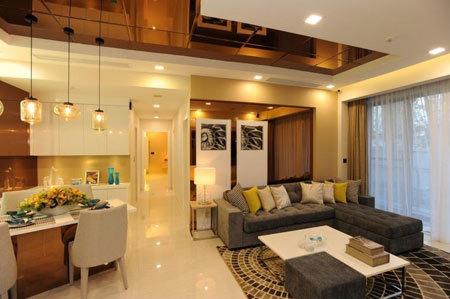 Căn hộ mẫu Green Valley là nhà mẫu đầu tiên tại Phú Mỹ Hưng ứng dụng hệ thống nhà thông minh Smart home